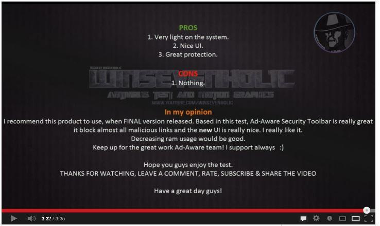 Ad-Aware 11 Free Video WinSevenHolic